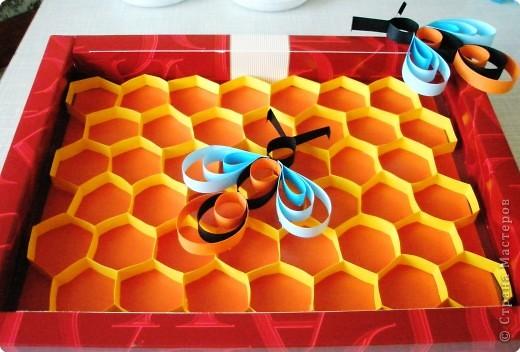 Бумагопластика: Вот и пчёлки прилетели фото 1