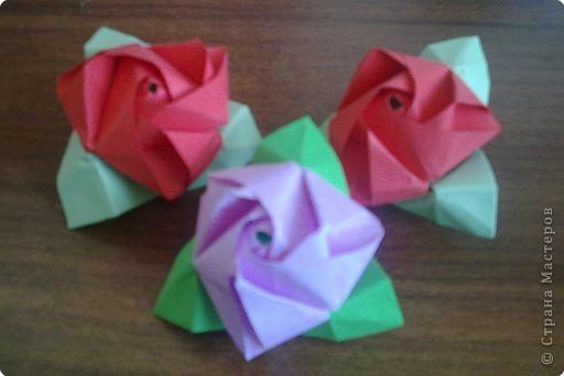 Кусудама: Магические розы)) фото 3