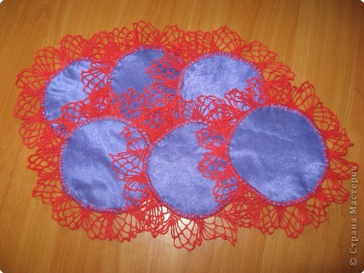 Вязание крючком: Салфетка