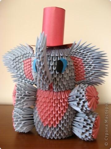 Оригами модульное: Слоник