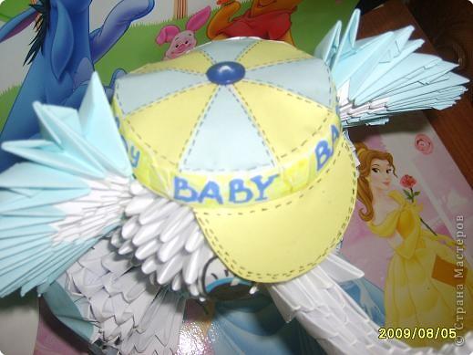 Делалось в подарок маленькому мальчику.  Поэтому решили сменить шляпу на бейсболку. фото 2