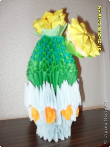 Оригами модульное: Мой кактусик