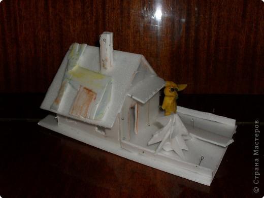 кораблик из пакетика из-под сока  Ваня 12 лет фото 3