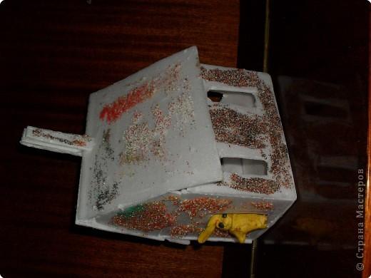 кораблик из пакетика из-под сока  Ваня 12 лет фото 4