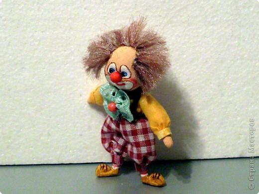 Шитьё: Рыжий клоун. фото 2