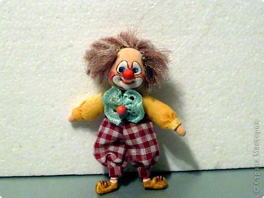 Шитьё: Рыжий клоун. фото 1