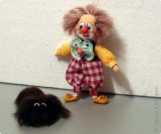 Шитьё: Рыжий клоун. фото 3