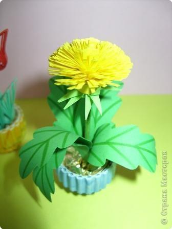 Квиллинг: Цветы фото 3
