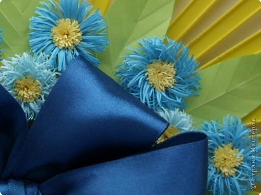 Квиллинг: Декоративный веер фото 3
