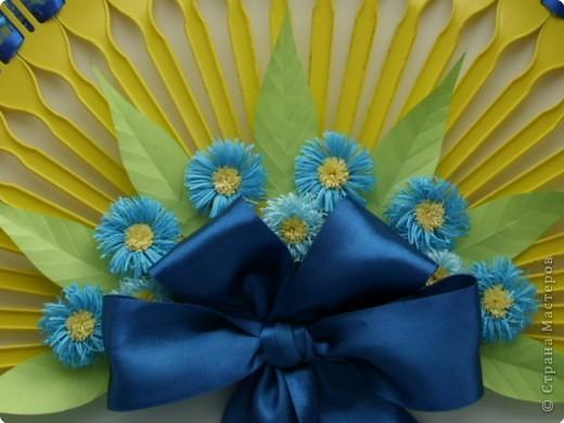 Квиллинг: Декоративный веер фото 2