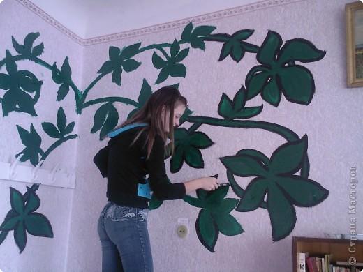 Роспись: Вот так мы класс украшали =) фото 2