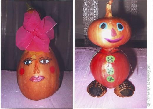 """к празднику урожая делалась выставка """"Поделки из овощей и фруктов"""", в детском саду. фото 3"""