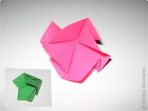 Оригами: И снова РОЗА. МК. фото 6