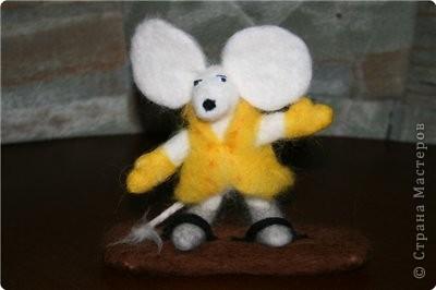 Крыс на сноуборде  фото 1