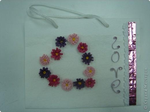 Квиллинг: Сердечные цветы, цветочное сердце, цветы от сердца или цветочно-сердечные метаморфозы ;-) фото 4