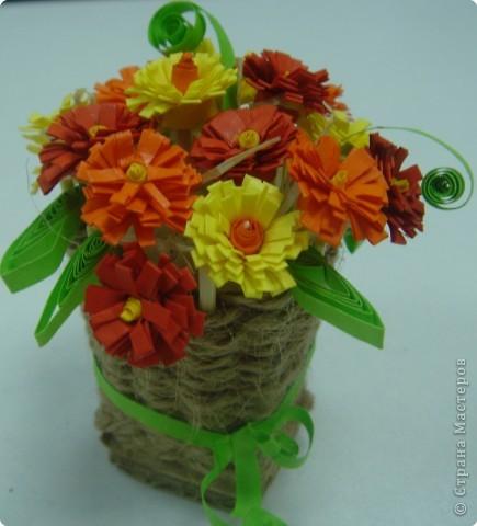 Квиллинг: Сердечные цветы, цветочное сердце, цветы от сердца или цветочно-сердечные метаморфозы ;-) фото 2
