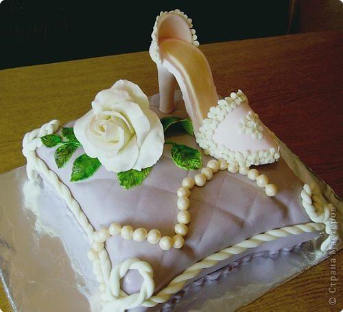 Это тортик-корзинка для моей бабули:) фото 5