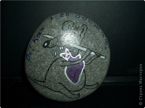 Роспись: Роспись на камнях фото 10