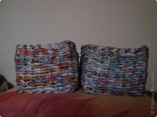 Плетение: еще одни коробочки для мелочей