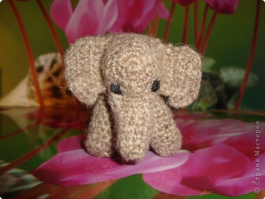 бабушка собирает слонов , вот сделала ей такой  подарок. фото 1