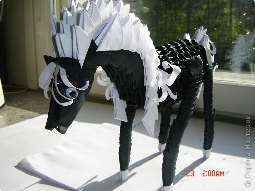 Оригами модульное: готовим сани для деда мороза фото 2