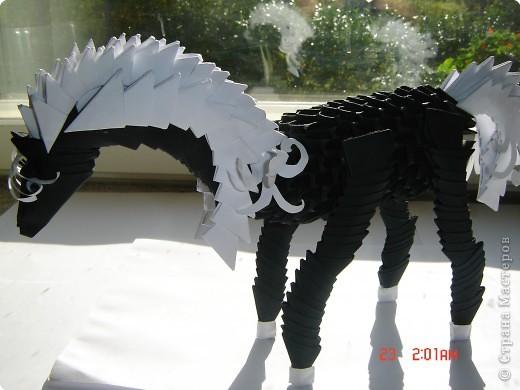 Оригами модульное: готовим сани для деда мороза фото 3