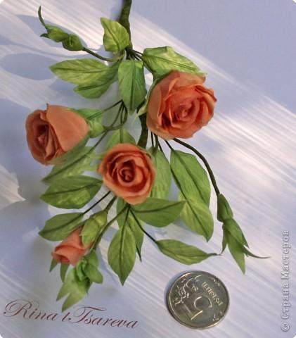 Украшение Шелковые цветы в японской технике цветоделия Ткань фото 10