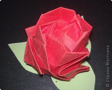 Оригами: Розочки фото 3
