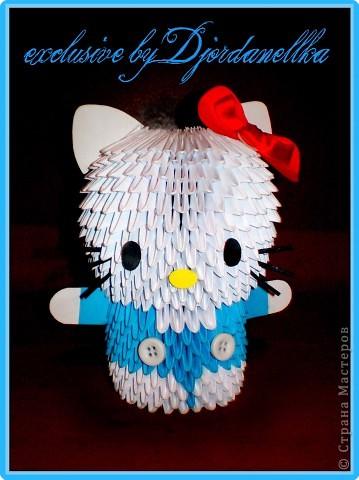 Оригами модульное: Друг Kitty фото 1