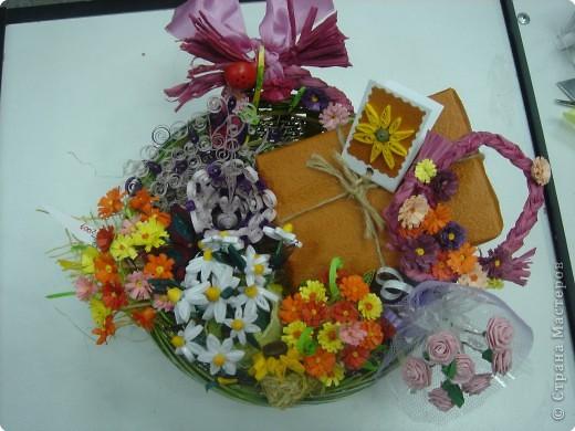 Квиллинг: Сердечные цветы, цветочное сердце, цветы от сердца или цветочно-сердечные метаморфозы ;-) фото 9