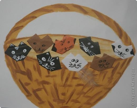 Оригами: Кошачья семейка фото 2