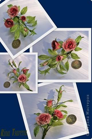 Украшение Шелковые цветы в японской технике цветоделия Ткань фото 6