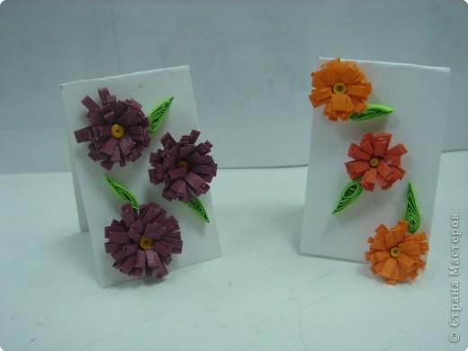 Квиллинг: Сердечные цветы, цветочное сердце, цветы от сердца или цветочно-сердечные метаморфозы ;-) фото 8