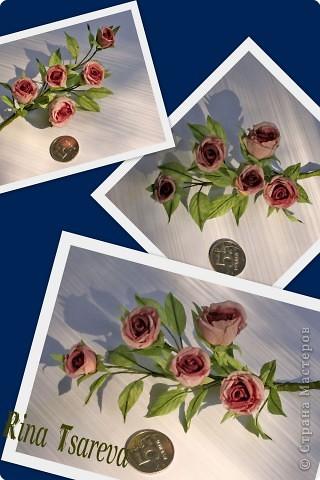 Украшение Шелковые цветы в японской технике цветоделия Ткань фото 8