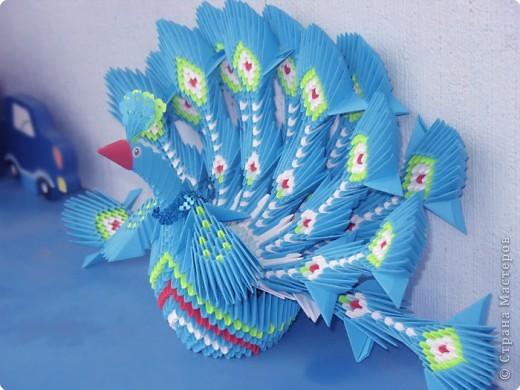 Оригами модульное: Павлин :) фото 2
