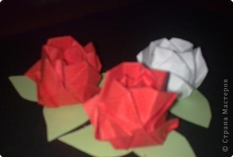 Оригами: Розочки фото 1
