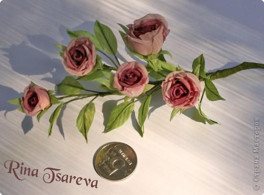 Украшение Шелковые цветы в японской технике цветоделия Ткань фото 11