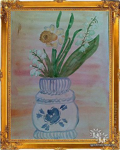 Рисование и живопись: Весенние цветы