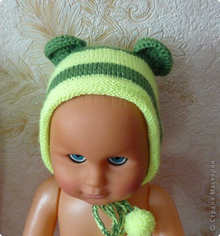 Вязание: Вязаный набор для малыша фото 2