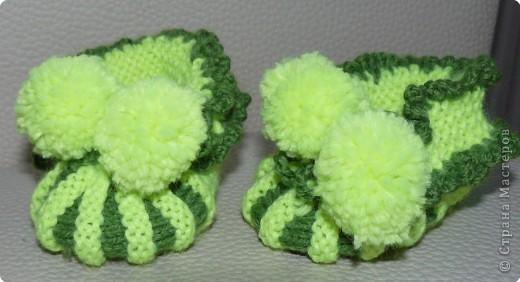 Вязание: Вязаный набор для малыша фото 3