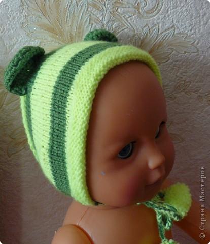 Вязание: Вязаный набор для малыша фото 1