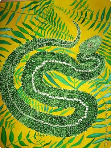 Рисование и живопись: Змейка