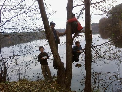 Каждый год осенью и весной я с моим классом (с детьми и их родителями) выезжаем на природу. Бываем в разных местах Татарстана. В этом году побывали в Марийской республике на озере Кичиер. фото 4