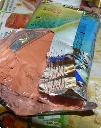 Материал,который нам необходим для выполнения объёмного декупажа,я взяла баночку из-под чипсов... фото 7