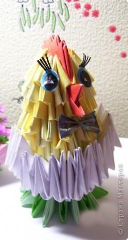 Оригами модульное: цыпа фото 2