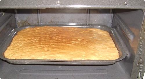 Каждый год на уроках кулинарии в 8 классе, девчата пекут этот торт. Конечно не шедевр по красоте, но очень вкусный и лёгкий в приготовлении. И самое главное, не надо ждать пока пропитается, он вкусен и в тёплом виде ( что не маловажно в рамках урока) фото 12