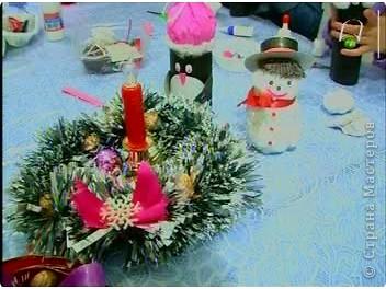 К прошлогодним Новогодним праздникам делали с ребятами игрушки - сувениры. фото 18