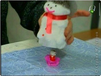К прошлогодним Новогодним праздникам делали с ребятами игрушки - сувениры. фото 17