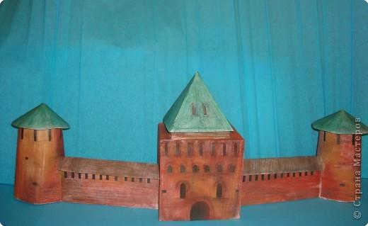 Макет: Нижегородский кремль (макет) фото 1