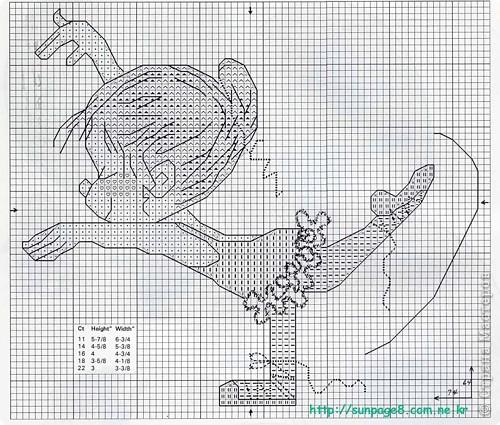 """Вышивка крестом: Вышивка """"Балерины"""" со схемами фото 2"""